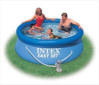 Надувной бассейн Intex Easy Set Pool. 244 х 76 см. с фильтром
