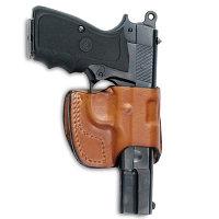 Front line Кобура кожаная на пояс Front Line Pocket для Glock 17 /17C/22/22C (FL30171-BR)