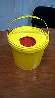 Контейнер для сбора мед.отходов с клапаном 3 л