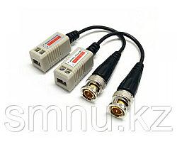 Комплект приемник/ передатчик видеосигнала по витой паре   ZB-202 A