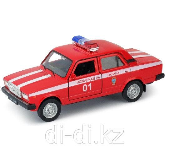 Игрушка модель машины  1:34-39 LADA 2107 ПОЖАРНАЯ ОХРАНА