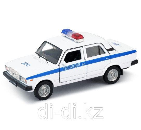 Игрушка модель машины  1:34-39 LADA 2107 ПОЛИЦИЯ