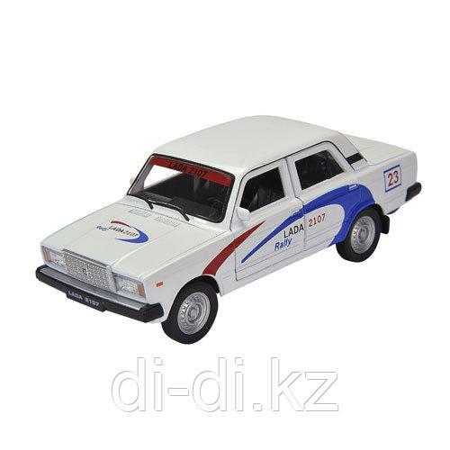 Игрушка модель машины 1:34-39 LADA 2107 RALLY