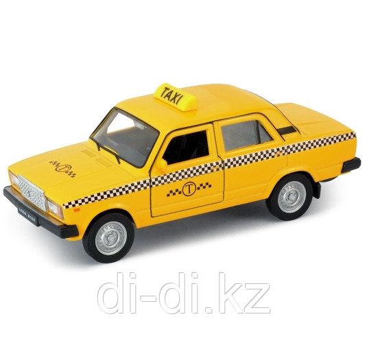 Игрушка модель машины 1:34-39 LADA 2107 ТАКСИ