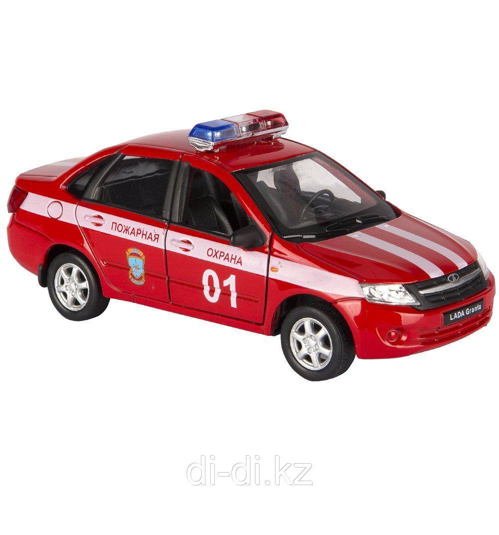 Игрушка модель машины 1:34-39 LADA Granta ПОЖАРНАЯ ОХРАНА