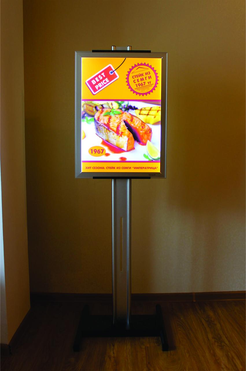 Рекламная конструкция со световой панелью А2 - фото 2