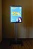 Рекламная конструкция со световой панелью А2