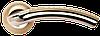 Дверная ручка Morelli MH-02P SN/CP Белый никель/хром