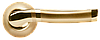 Дверная ручка Morelli MH-04 SG/GP Матовое золото/золото