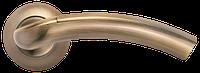Дверная ручка Morelli MH-02 MAB/AB Матовая античная бронза/античная бронза
