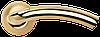 Дверная ручка Morelli MH-02 SG/GP Матовое золото/Золото
