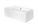 Ванна асимметричная Besco Infinity 150×90 см, фото 4