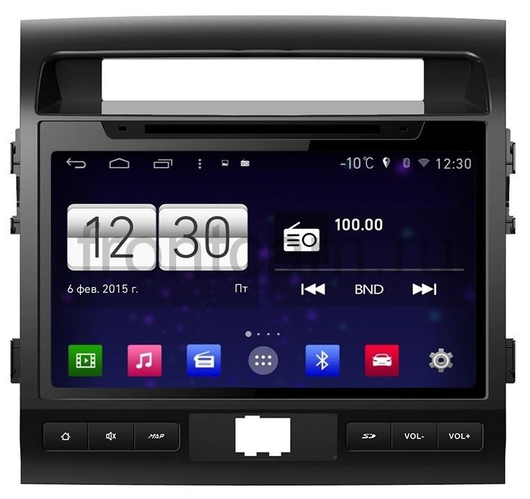 Автомагнитола Android 4.4.4 Winca s160 на Toyota Land Cruiser 09-12