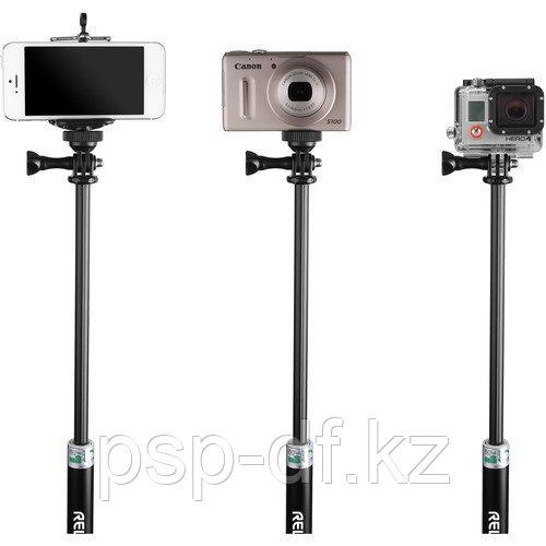 """Телескопический монопод Revo Adjustable Selfie-Stick (11-37"""")"""