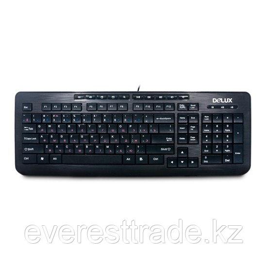 Клавиатура проводная Delux DLK-3100UB USB