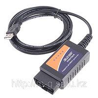 Универсальный автосканер ELM327 OBD-II USB, фото 1