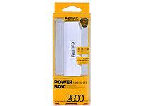 ПЗУ Remax Power Bank mini white 2600 mAh