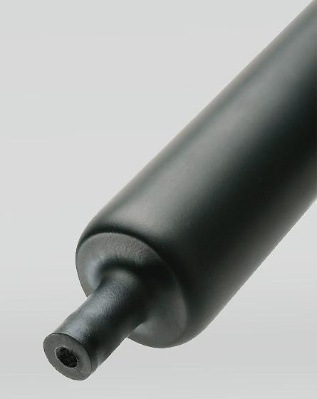 Толстостенные термоусадочные трубки с клеевым слоем и коэффициентом усадки 3:1 и 4:1 НТТК-130/36 (™КВТ)