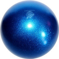 Мяч Pastorelli,18 см, вес 400 гр. синий.