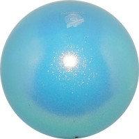 Мяч Pastorelli,18 см, вес 400 гр. голубой.