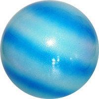 Мяч Pastorelli,18 см, вес 400 гр. синий-голубой-белый.