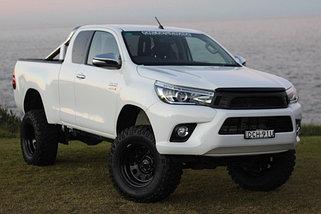 Усиленная подвеска Toyota Hilux 2015-