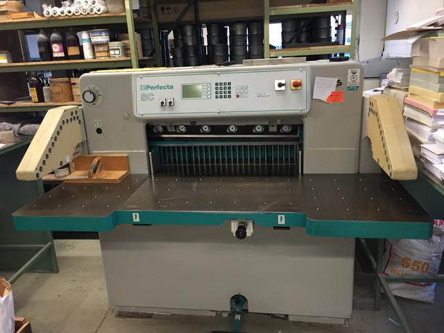 Perfecta 76 б/у 1997г - бумагорезательная машина