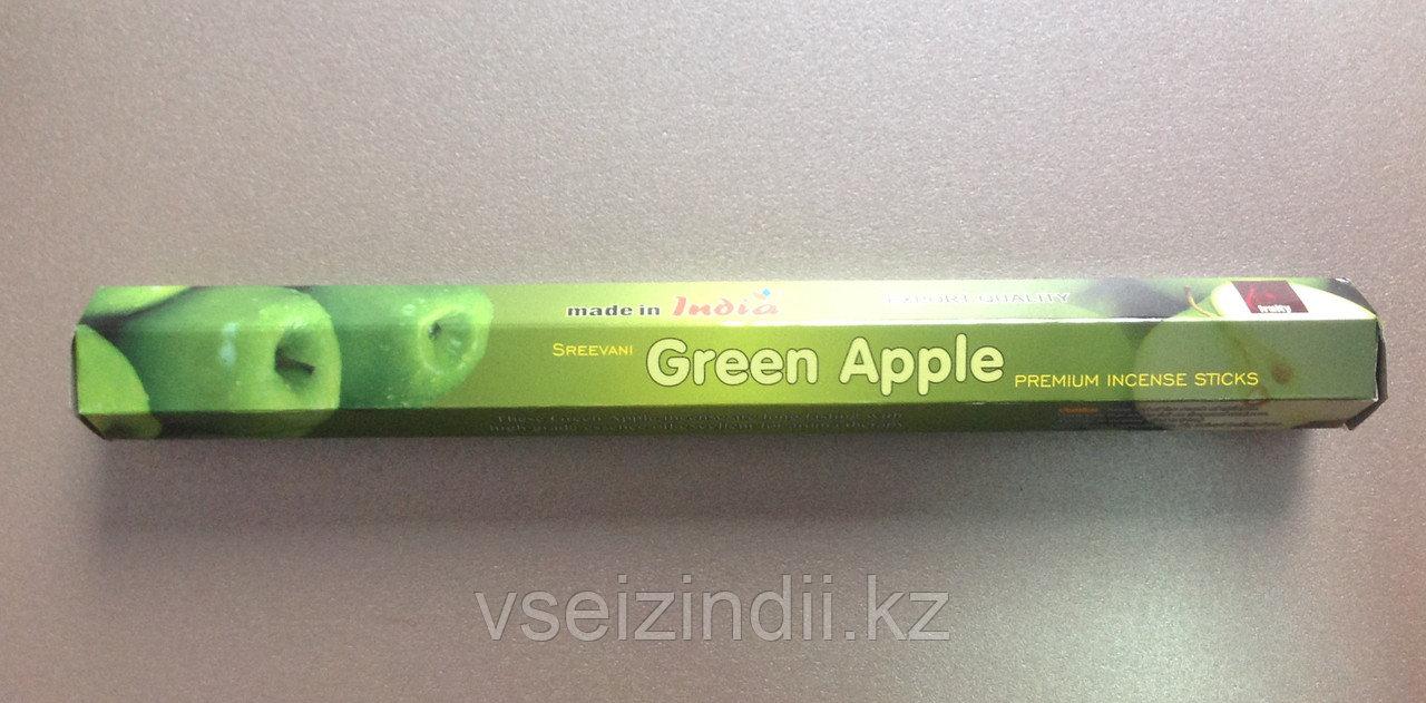 Благовония угольные Green Apple, 20 шт