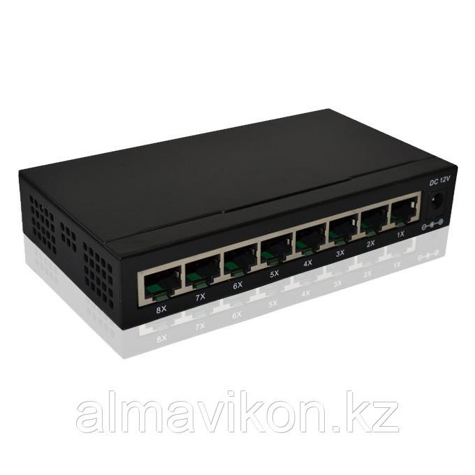 Сетевой коммутатор 8 портов 1000 Мбит/с