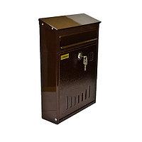 Ящик почтовый универсальный «Элит» (коричневый)