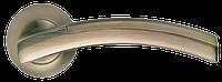 Дверная ручка Morelli MH-12 MAB/AB Матовая античная бронза/античная бронза
