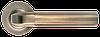 Дверная ручка Morelli MH-11 MAB/AB Матовая античная бронза/античная бронза