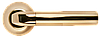 Дверная ручка Morelli MH-11 SG/GP Матовое золото/золото