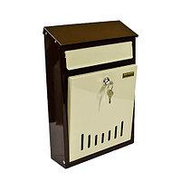 Ящик почтовый универсальный «Элит» (бежево-коричневый)