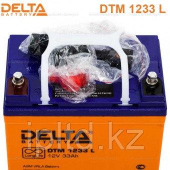 Delta аккумуляторная батарея DTM 1233 L (12 лет)