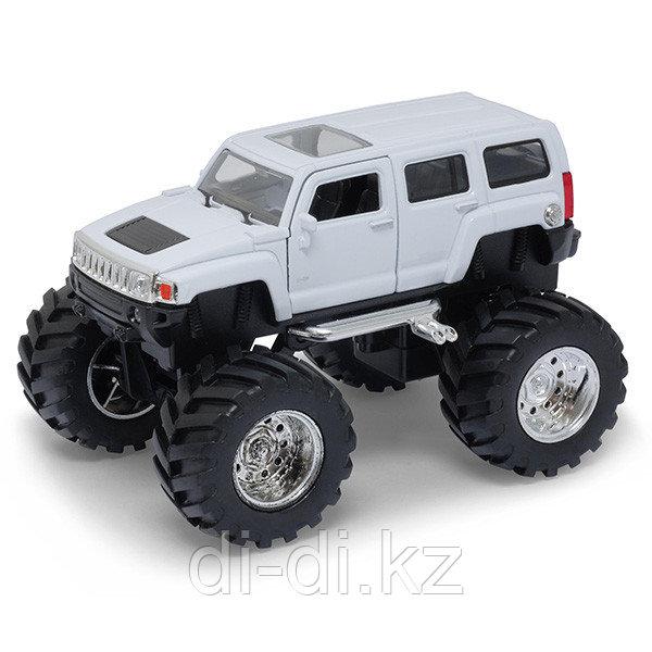 Игрушка модель машины 1:34-39 Hummer H3 Big Wheel