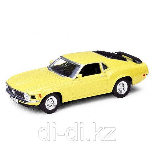 Игрушка модель винтажной машины 1:34-39 Ford Mustang 1970
