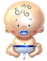 Фольгированный шар Малыш Мальчик 51 см в Павлодаре, фото 1