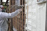 Наружное утепление стен, ППУ 2-х компонентный, фото 1