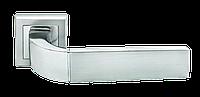 Дверная ручка Morelli MH-27 SC/CP-S Матовый хром/полированный хром