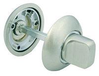 Поворотная ручка для сантехнических защелок Morelli MH-WC SN/CP Белый никель/полированный хром, фото 1
