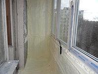 Утепление балкона ППУ