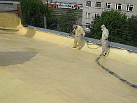 Утепление крыши методом напыления пенополиуретана, фото 1