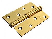 Дверная петля стальная разъёмная Morelli MSD 100X70X2.5 PG L Левая (цвет: золото)