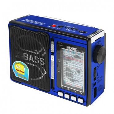 Радиоприемник BAHM BA-1338 USB,FM,SD,фонарь