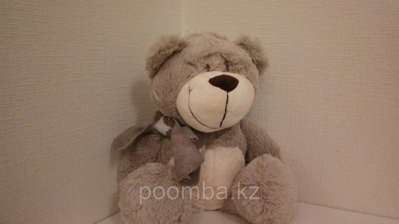 """Мягкая игрушка """"Медведь в шарфе"""""""