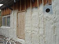 ТЕПЛОИЗОЛЯЦИЯ наружных стен пенополиуретаном, фото 1