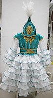 Казахское платье для девочки 7-9 лет, фото 1