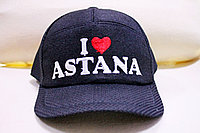 "Войлочная бейсболка ""I Love Astana"""
