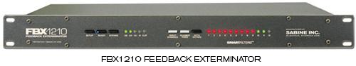 FBX1210i подавитель обратной связи, международная версия, 24-битный одноканальный (1U стойку)